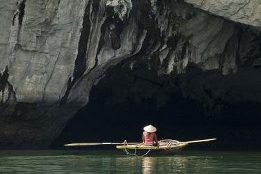 Dark & Light Cave in Ha Long Bay