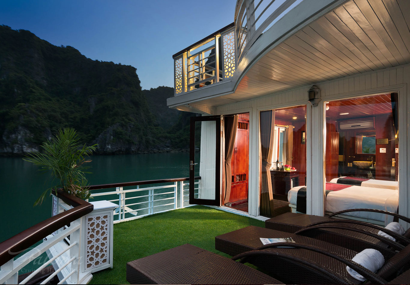 Private Balcony of Family Suite