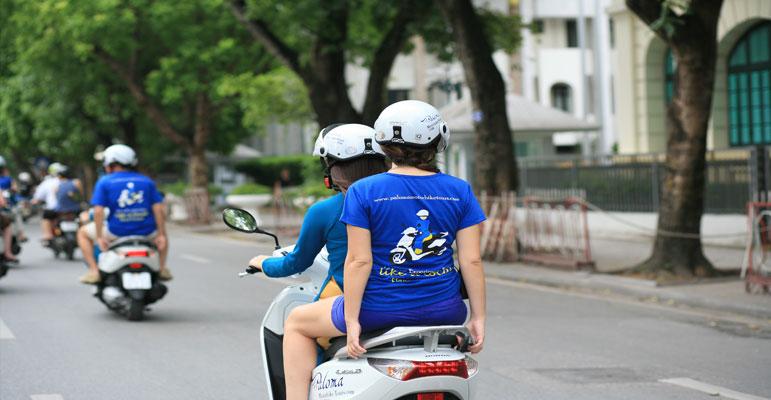 Paloma motorbike tour